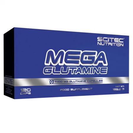 Scitec Mega Glutamine, 120 капсул
