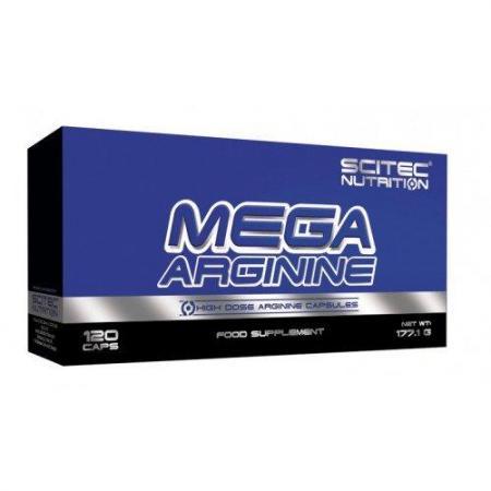 Scitec Mega Arginine, 120 капсул