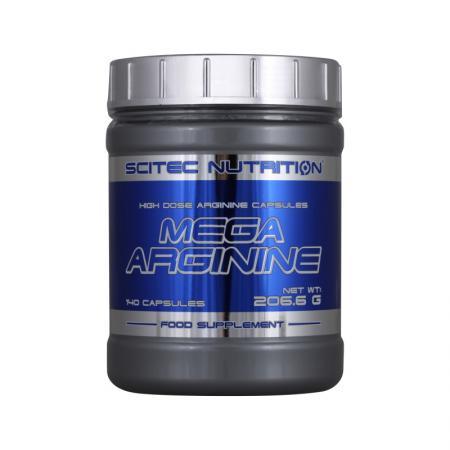 Scitec Mega Arginine, 140 капсул