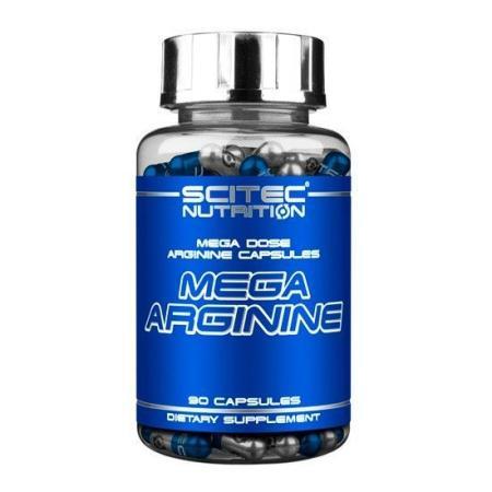 Scitec Mega Arginine, 90 капсул