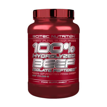 Scitec 100% Hydrolyzed Beef Isolate Peptide, 900 грамм