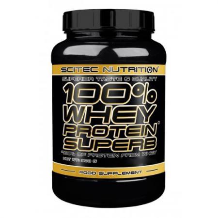 Scitec 100% Whey Protein SuperB, 900 грамм