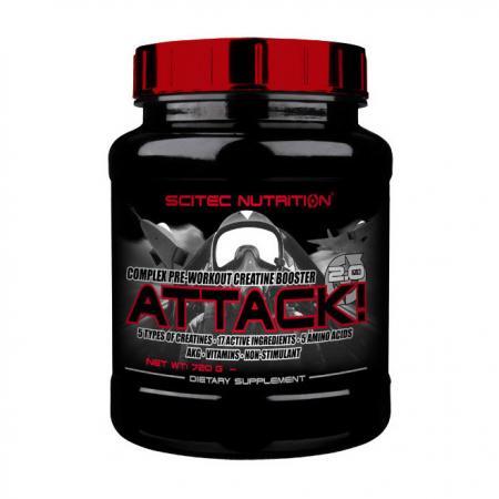 Scitec Attack, 720 грамм