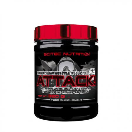 Scitec Attack, 320 грамм