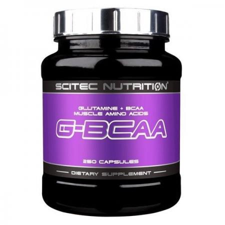Scitec G-BCAA, 250 капсул
