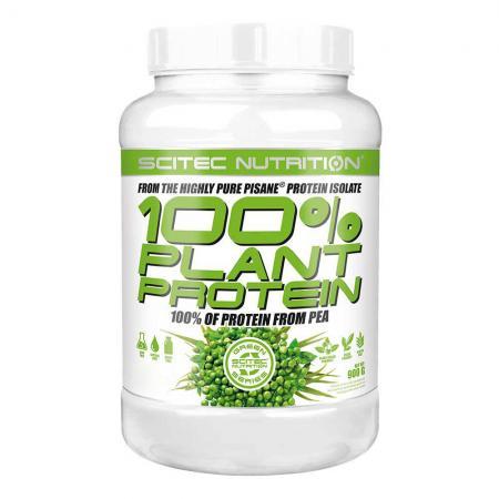 Scitec 100% Plant Protein, 900 грамм - Green Series