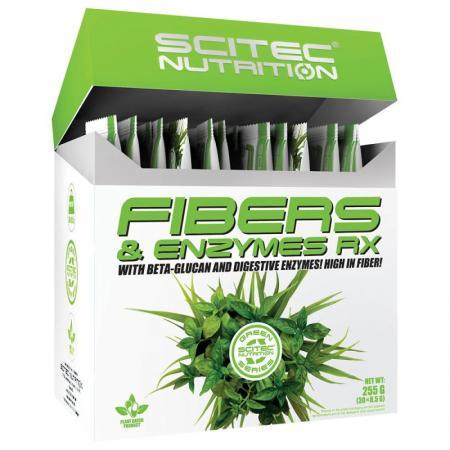 Scitec Fibers & Enzymes RX Box 30*8,5 грамм - Green Series