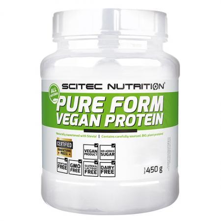 Scitec Pure Form Vegan Protein, 450 грамм - Green Series