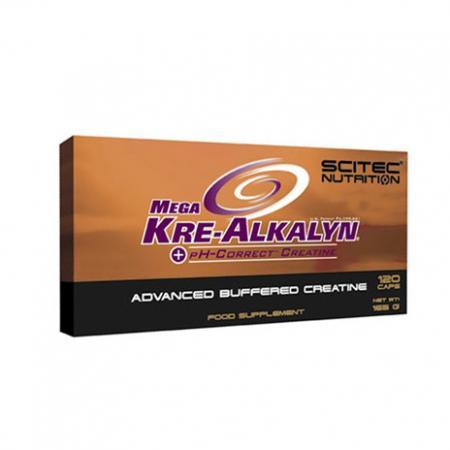 Scitec Mega Kre-alkalyn, 120 капсул