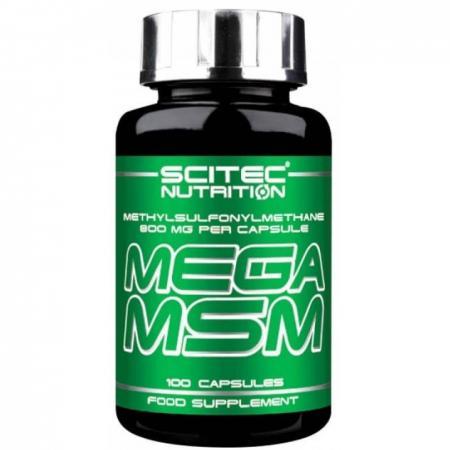 Scitec Mega MSM, 100 капсул