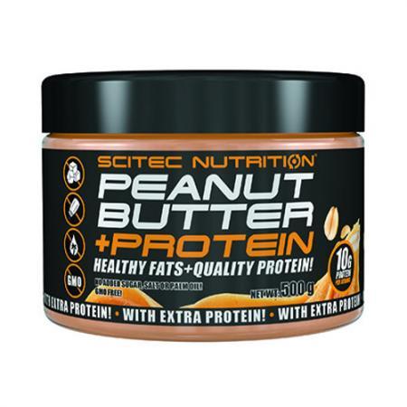 Scitec Peanut Butter+Protein, 500 грамм
