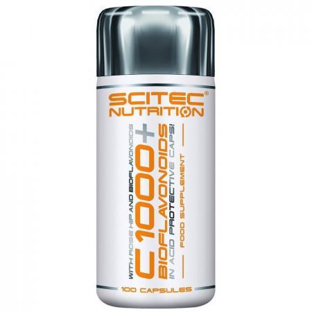 Scitec Vitamin C 1000+Bioflavonoid, 100 таблеток