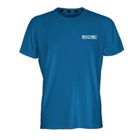 Футболка женская Scitec Technic - синяя