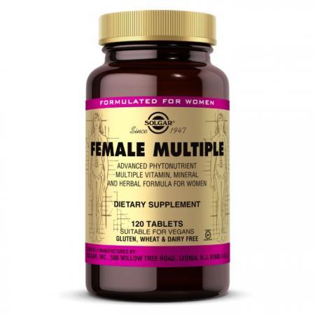 Solgar Female Multiple, 120 таблеток