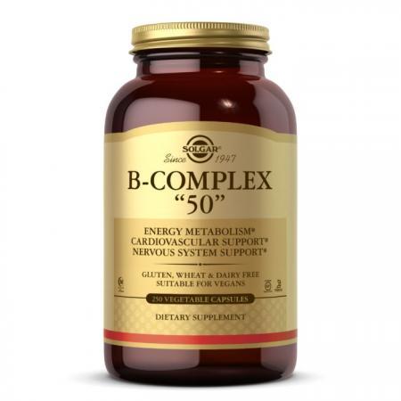 Solgar B-Complex 50, 250 вегакапсул