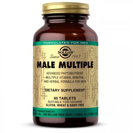 Solgar Male Multiple, 60 таблеток