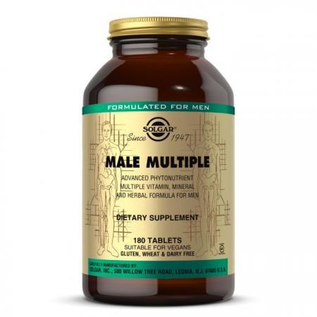 Solgar Male Multiple, 180 таблеток