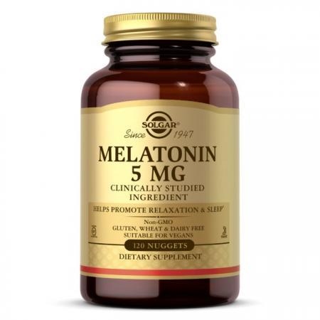 Solgar Melatonin 5 mg, 120 таблеток