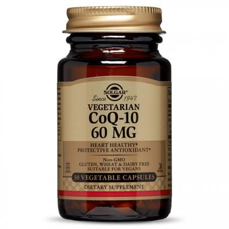 Solgar Vegetarian CoQ-10 60 mg, 30 вегакапсул