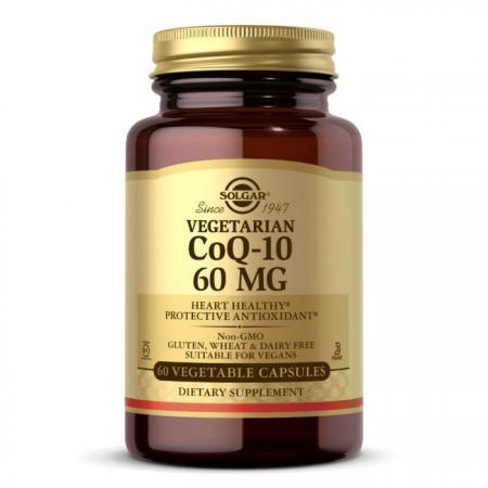 Solgar Vegetarian CoQ-10 60 mg, 60 вегакапсул