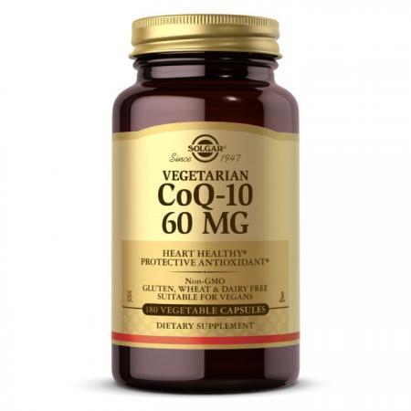 Solgar Vegetarian CoQ-10 60 mg, 180 вегакапсул