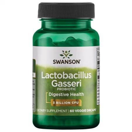 Swanson Lactobacillus Gasseri, 60 вегакапсул
