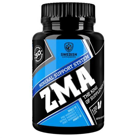 Swedish ZMA, 120 капсул