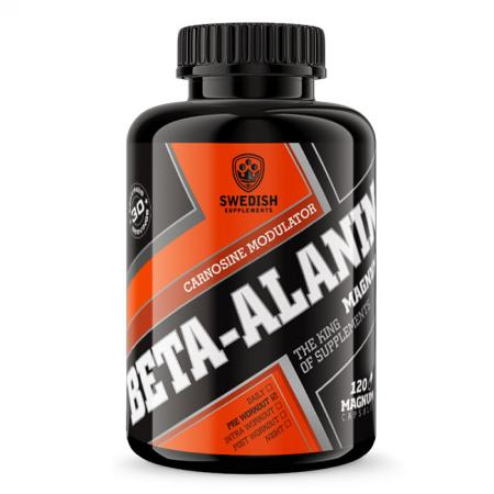 Swedish Beta-Alanine Magnum, 120 капсул