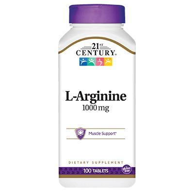 21st Century L-Arginine 1000 mg, 100 таблеток