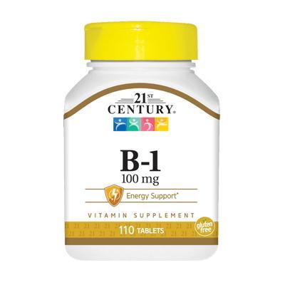 21st Century B1 100 mg, 110 таблеток