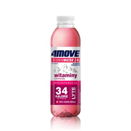 4MOVE Vitamin Water Witaminy + Mineraly, 556 мл