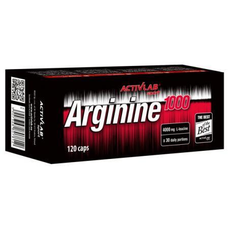 Activlab Arginine 1000, 120 капсул