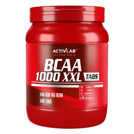Activlab BCAA 1000 XXL, 240 таблеток