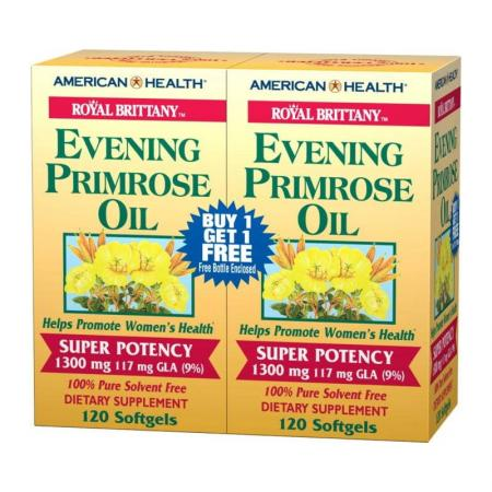 American Health Royal Brittany Evening Primrose Oil, 240 капсул