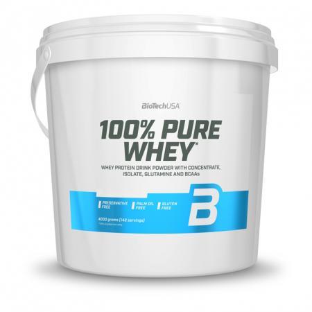 BioTech 100% Pure Whey, 4 кг