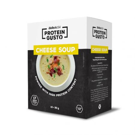BioTech Cheese Soup, 300 грамм - Protein Gusto