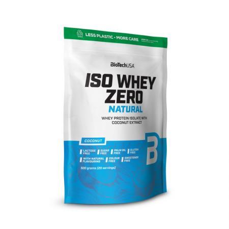 BioTech Iso Whey Zero Natural, 500 грамм