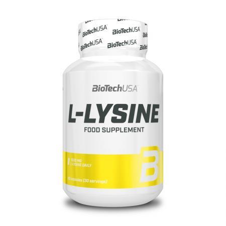 BioTech L-Lysine, 90 капсул