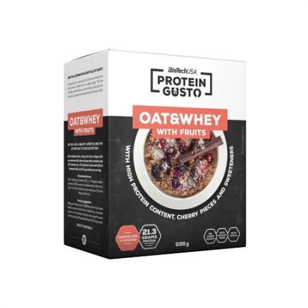 BioTech Oat & Whey 696 грамм, шоколад - Protein Gusto