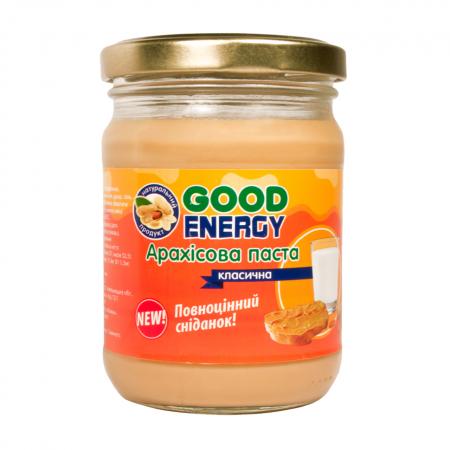 Good Energy Арахисовая паста, 250 грамм-белый шок