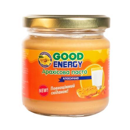Good Energy Арахисовая паста, 180 грамм