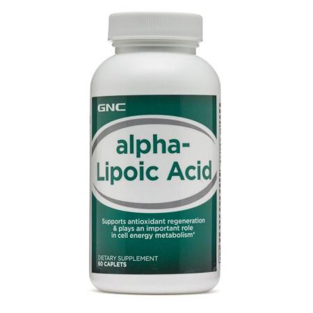 GNC Alpha-Lipoic Acid, 60 капсул-дизайн