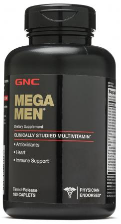 GNC Mega Men, 180 каплет