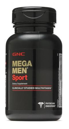 GNC Mega Men Sport, 28 каплет