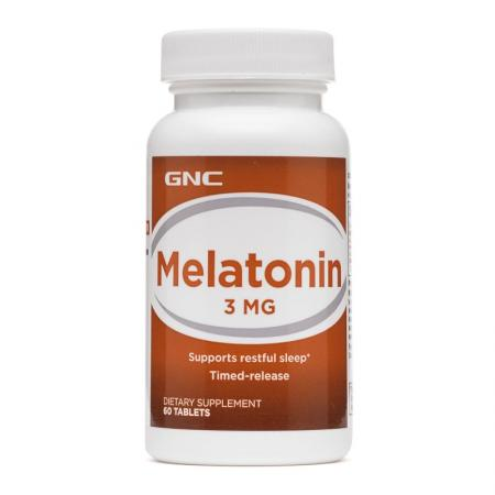 GNC Melatonin 3, 60 таблеток