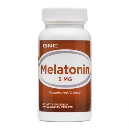 GNC Melatonin 5, 60 таблеток
