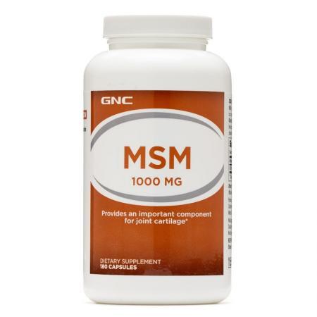 GNC MSM 1000, 180 капсул