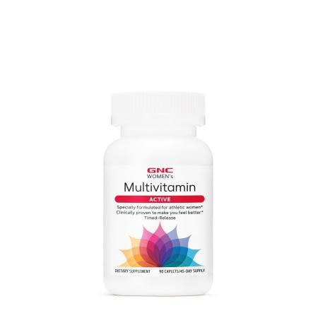 GNC Women's Multivitamin Active, 90 каплет