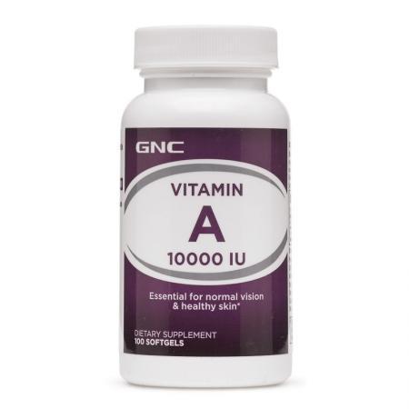 GNC Vitamin A 10000, 100 капсул