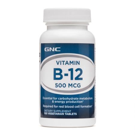 GNC Vitamin B-12 500, 100 таблеток